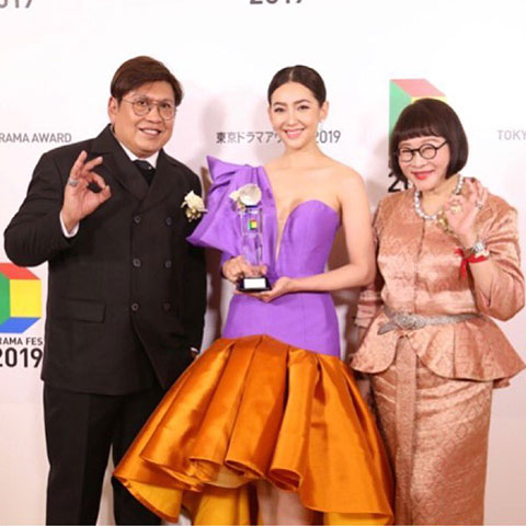 รางวัล 13TH INTERNATIONAL DRAMA FESTIVAL IN TOKYO : SPECIAL AWARD FOR FOREIGN DRAMA  บุพเพสันนิวาส
